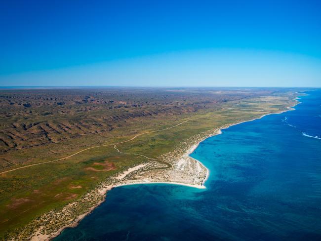 Ningaloo Reef in Western Australia. Picture: Tourism WA