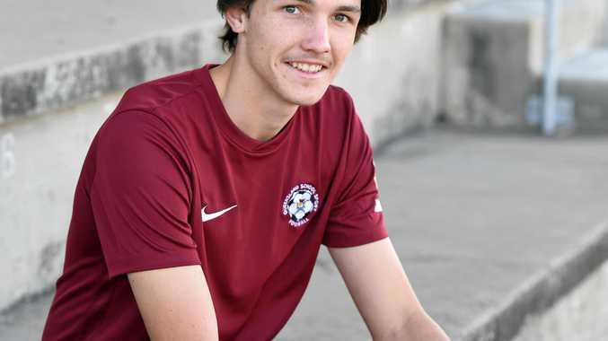 Dylan Leggett represented Queensland recently.