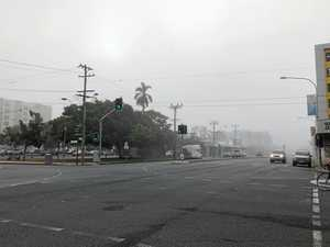 Heavy fog delay flights out of Mackay