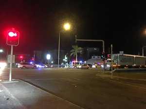 Pedestrian hit attempting to cross Bruce Highway