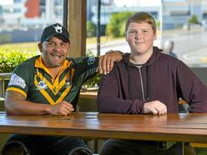 Gladstone teen meets Cowboys legend namesake