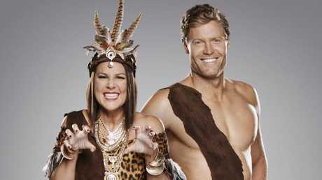 I'm A Celebrity Get Me Out Of Here hosted by Dr. Chris Brown and Julia Morris.