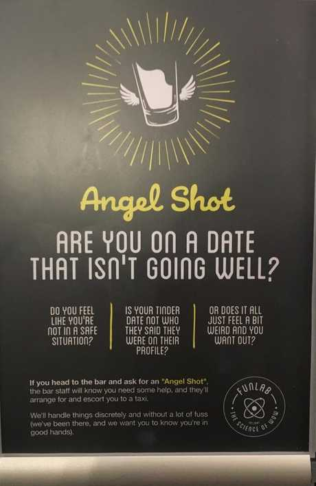These signs are appearing in female bathrooms around New South Wales.