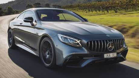 2018 Mercedes-AMG S63 coupe: Outstanding two-door styling.