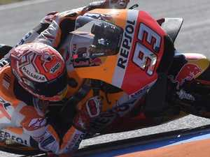 Pedrosa pours on throttle in Czech Moto GP practice
