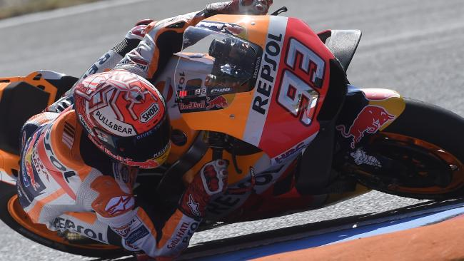 Spanish rider Marc Marquez will start from pole. Picture: AFP