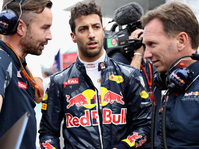 Red Bull hasn't been able to give Ricciardo what he wants.