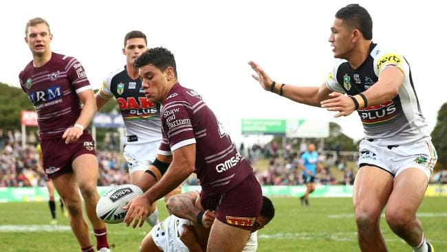 Kelly has been in strong form for Manly this season. (Photo by Matt Blyth/Getty Images)