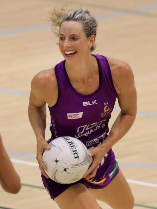 Netballer Laura Geitz has represented Australia in 50 international test matches with the Diamonds. Picture: Adam Head