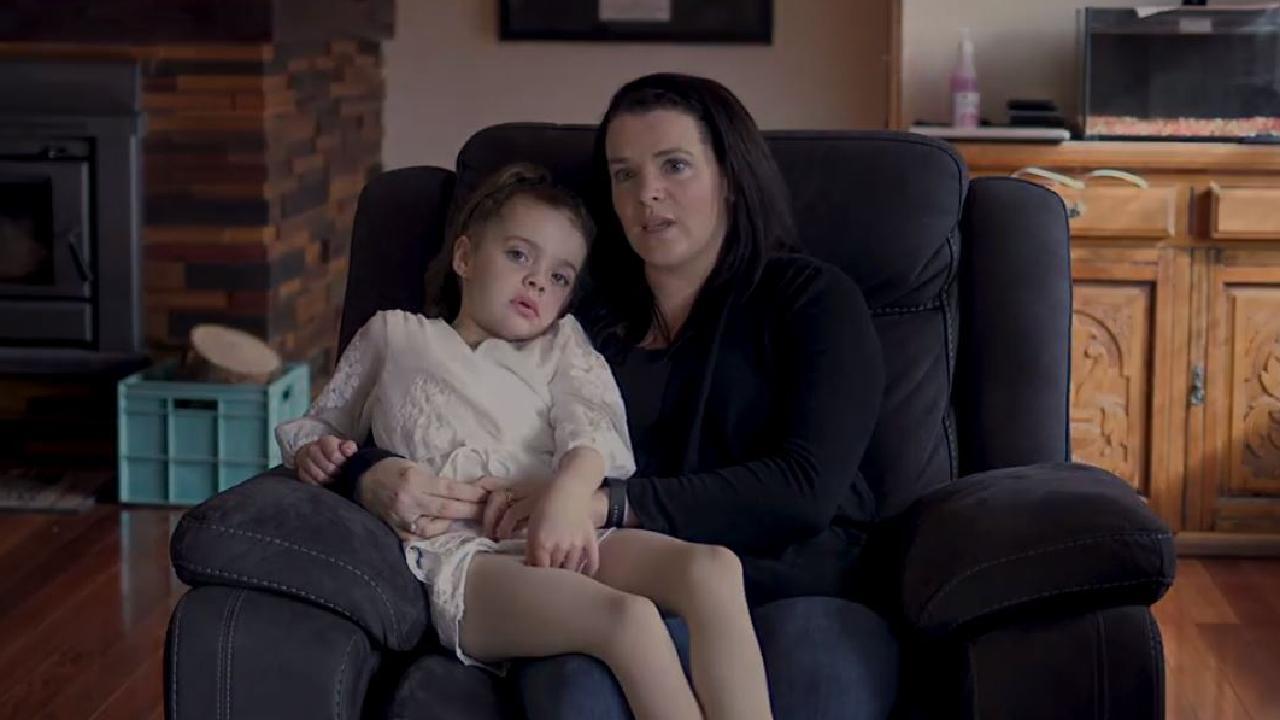 Sarah Lockett with her daughter Montana Lockett, 6.