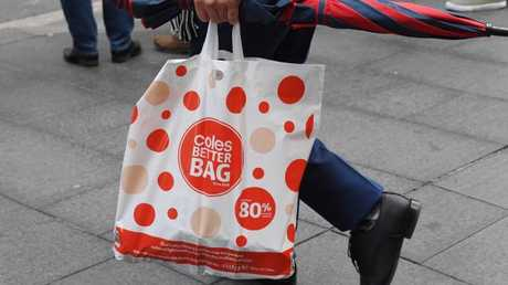 Calls to 'ban plastic bags' in supermarkets have been heard. Picture: AAP/Peter Rae.
