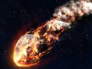 Mystery after meteor hits earth