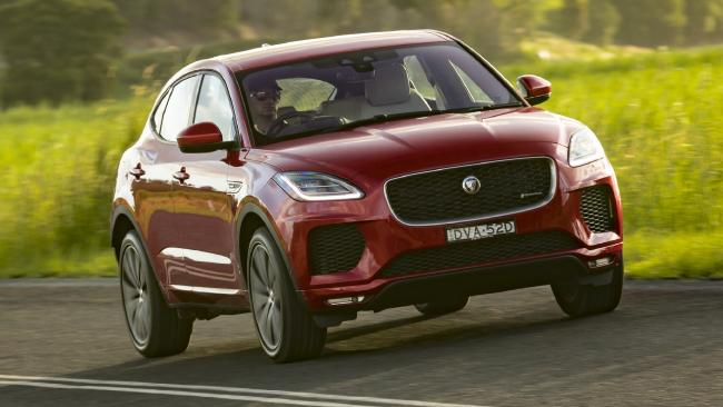 Jaguar standard: The handling and steering are fine and there are two versions of AWD.