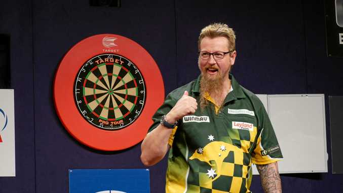 COREY Cadby says Simon Whitlock is still the daddy of Australian darts.