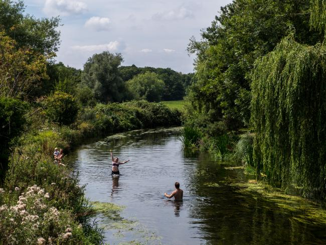 Temperatures have been heating up all across Europe and it is predicted that the record temperature on the continent could soon be broken. Picture: Chris J Ratcliffe