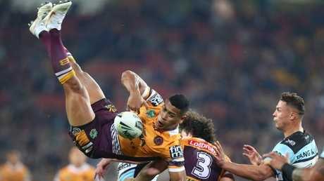 Brisbane's 2018 form suggest they may have the upper hand on the Cowboys. (Photo by Chris Hyde/Getty Images)