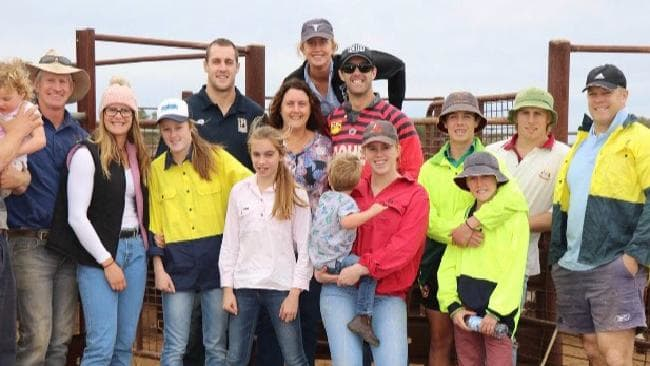 Yeo's family have been directly impacted by the Australia-wide drought.
