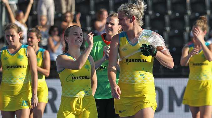 Emily Smith shows Jodie Kenny just how close Australia came to winning.