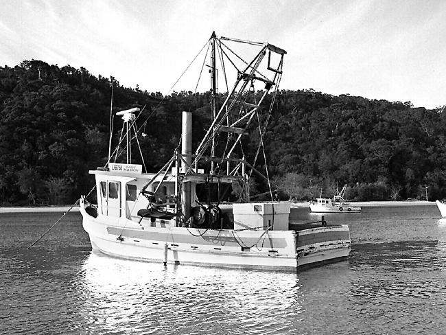 The Lady Marion on the Hawkesbury.