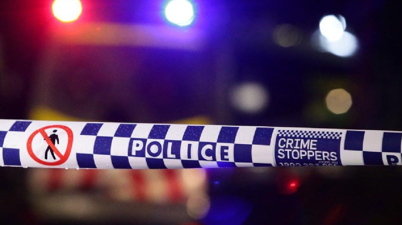 A person has died in a crash in Gaven overnight.