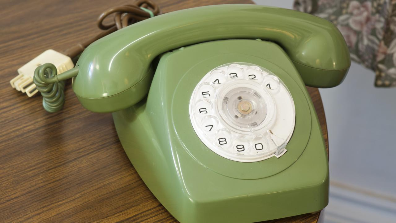 What phones used to look like.