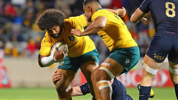 Tatafu Polota-Nau has some serious competition for the Wallabies hooker role.