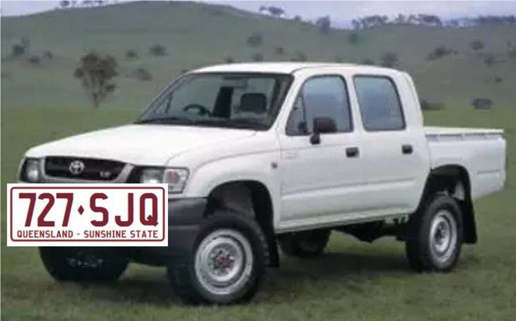 Police are hunting a an has allegedly lit fires near a camp ground at Waterpark Creek, Byfield, before threatening to kill emergency services and fleeing the scene, only to later assault a man in his Byfied home with a machete and stealing a Toyota ute from the property.