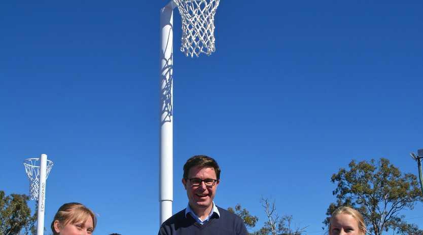 SPORT: MP David Littleproud encourages   sporting groups to seek funding.