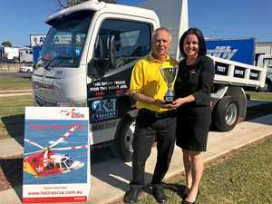 Truckies lend a helping hand