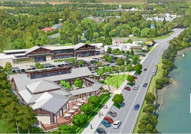 VILLAGE PLAN: An artist's impression of Concept Development Application at Chinderah.
