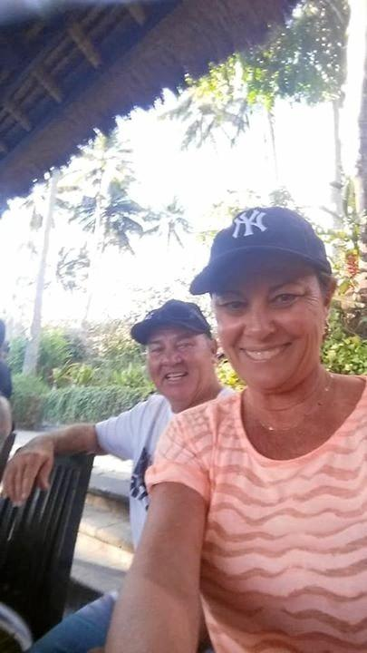 Cathy Norman and Paul Bergin of Maroochydore were forced to evacuate their hotel and seek higher ground when a Category 7 earthquake struck Lombok overnight. More than 80 people have died.