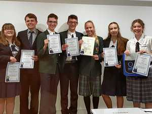Leaders in the making take on Quota's annual competition
