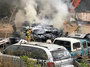 REVEALED: What started the fire that engulfed 8 cars today