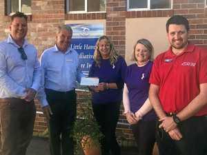 Madills' donation kick starts Little Haven fundraising year