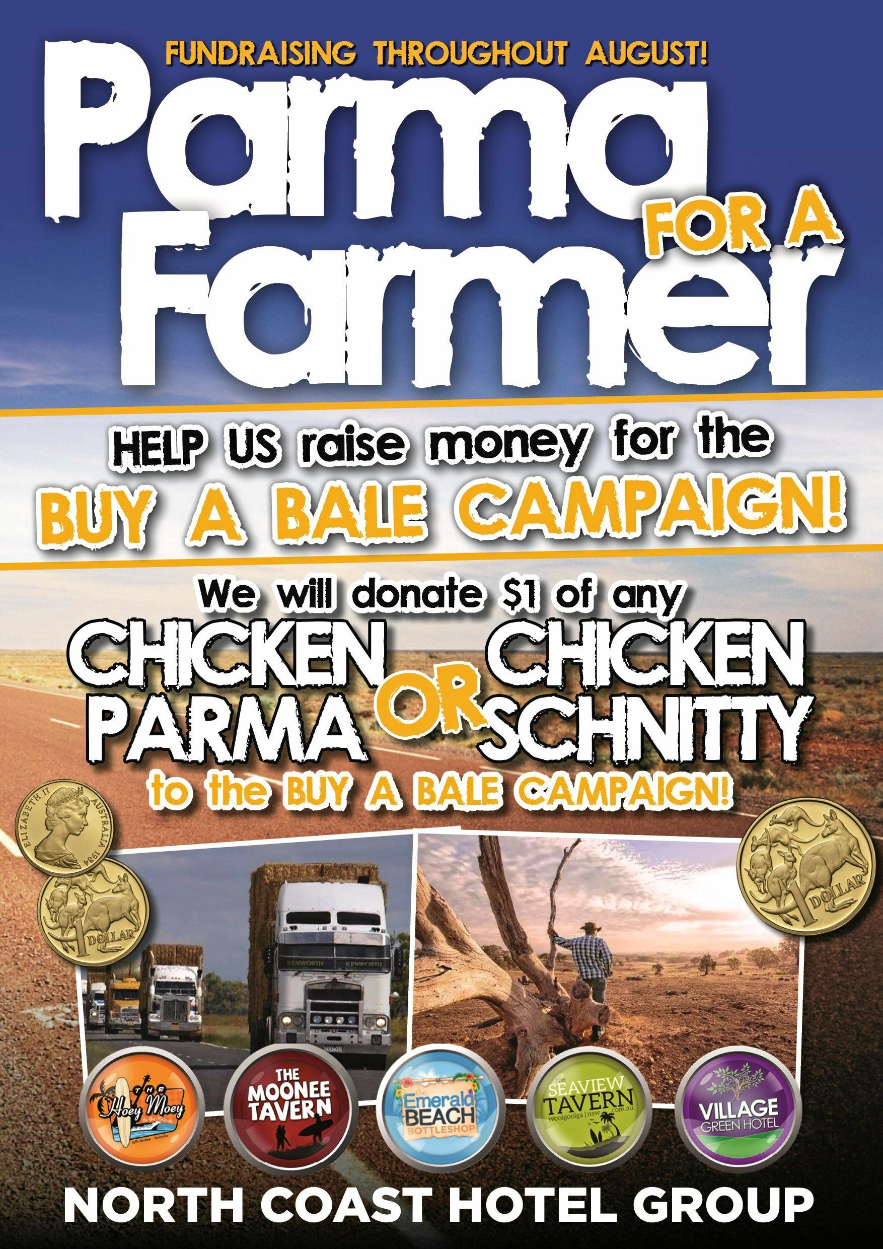 The North Coast Hotel Group is running a drought relief campaign for drought stricken farmers.