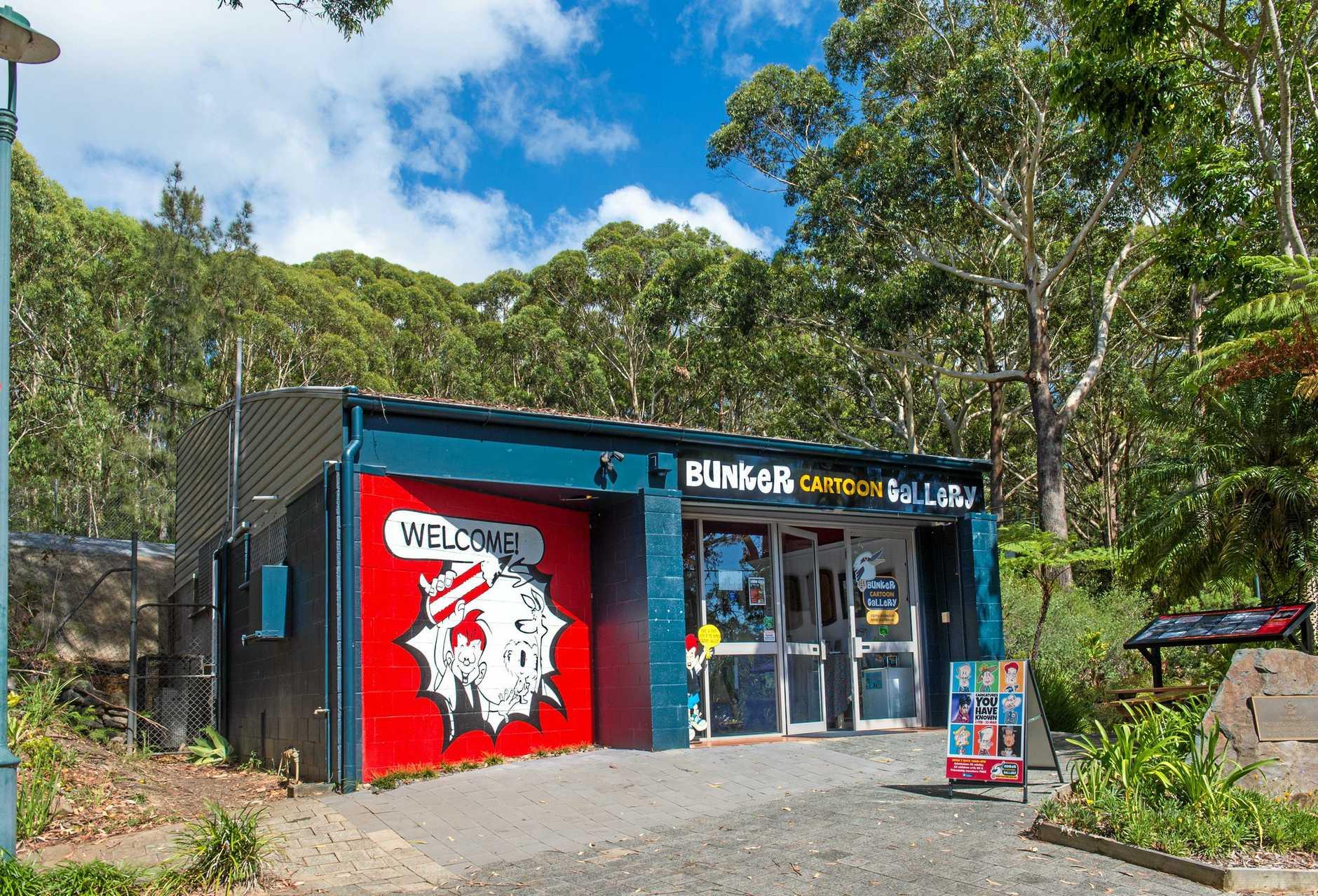 Bunker cartoon gallery. 30 January 2018