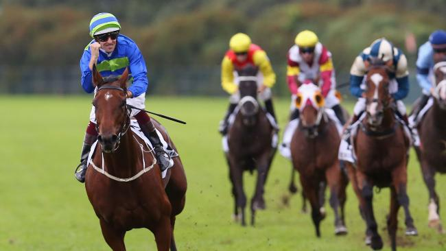 Jameka romps to a massive win in The BMW at her last race start. Picture: Getty Images