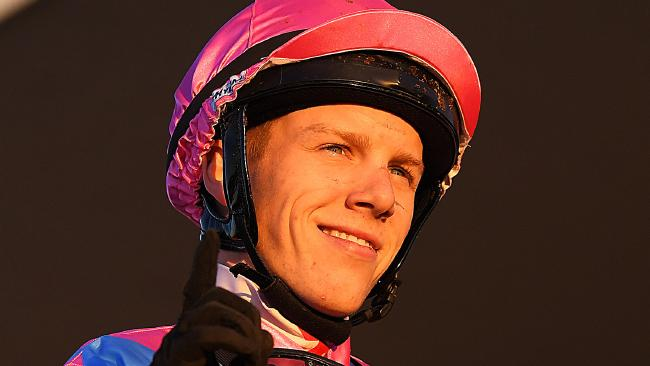 Jockey Corey Bayliss has been suspended for two months. Picture: AAP