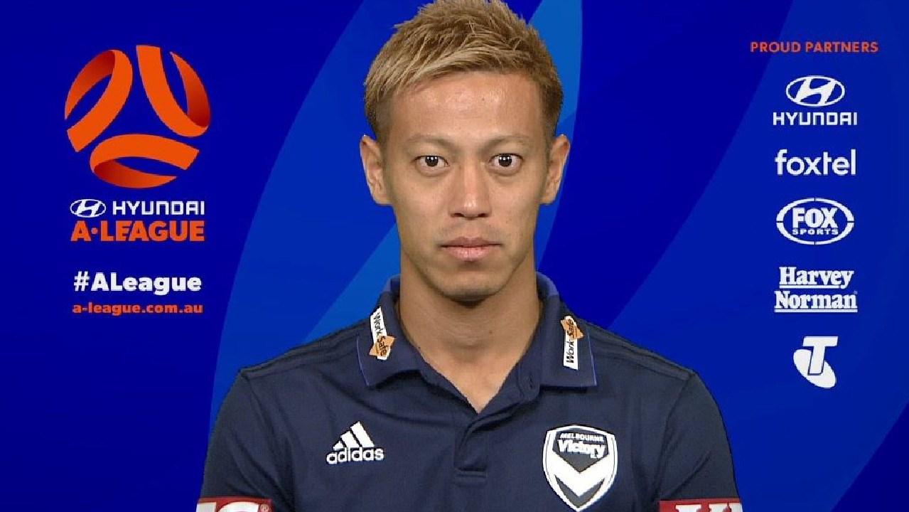 Keisuke Honda is headed to the A-League.