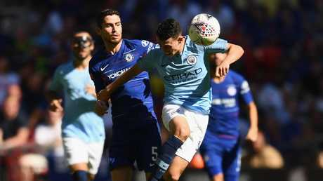 Phil Foden impressed for Manchester City.