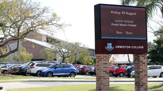 Ormiston College has lost a bid to make a local dad pay a penalty for late school fees. Schools. Picture: Jono Searle.