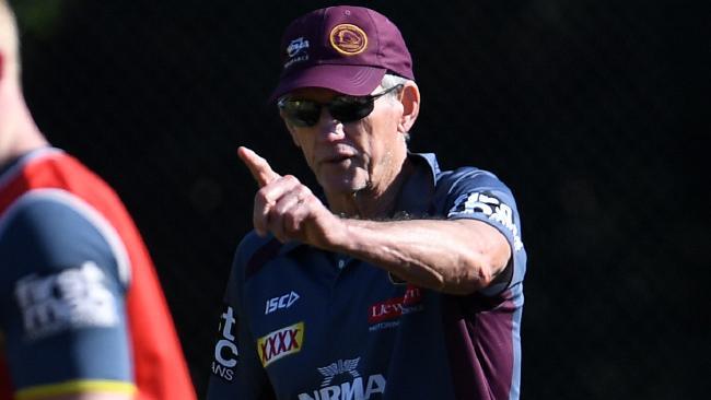 Brisbane Broncos coach Wayne Bennett. Photo: AAP