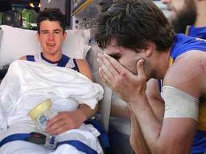 Gaff still in line for All-Australian despite brutal hit
