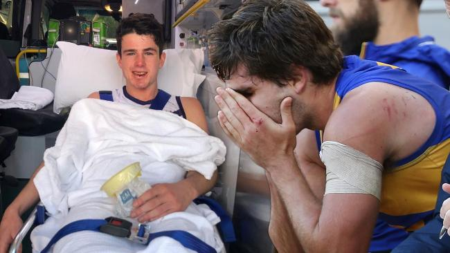 AFL chief executive Gillon McLachlan says Andrew Gaff could still be selected for the All Australian team despite his brutal hit on Andrew Brayshaw.