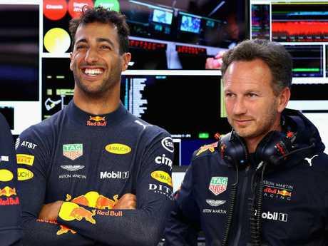 Daniel Ricciardo's happy days at Red Bull are over.