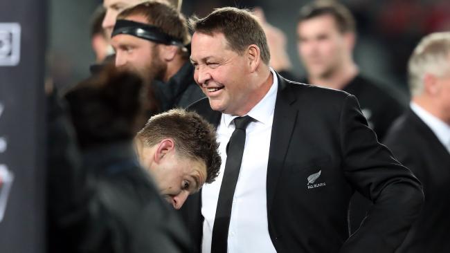 New Zealand coach Steve Hansen has labelled the Wallabies favourites.