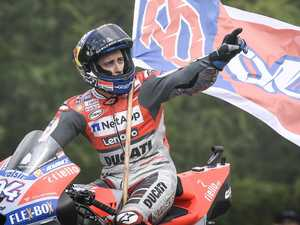 Dovizioso holds on to win thrilling Czech Republic MotoGP