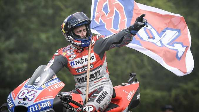 Andrea Dovizioso won the MotoGP Czech Republic Grand Prix. Pic: MotoGP.com