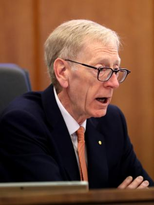 Commissioner Kenneth Hayne. Picture: David Geraghty/The Australian.