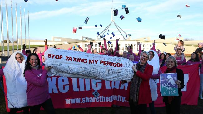 Move To Axe Tampon Tax Is About Bloody Time Gympie Times